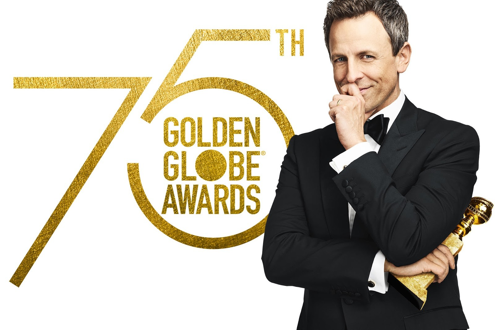 Seth Meyers, apresentador da cerimônia do Globo de Ouro em 2018 (Foto: divulgação)