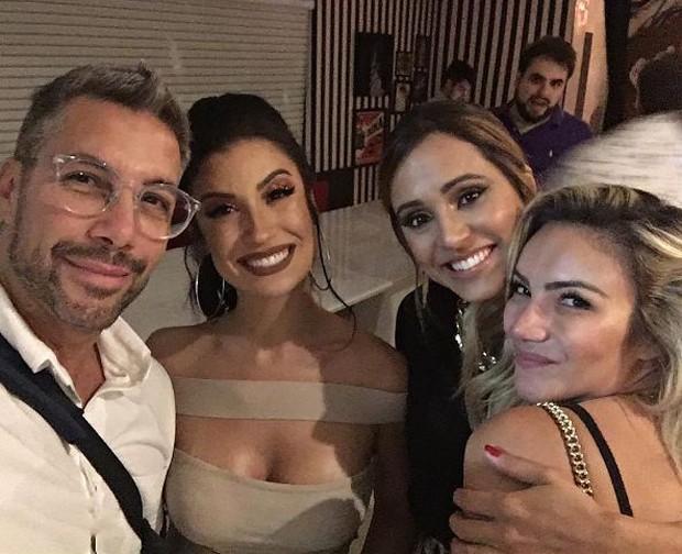 Fernando Torquatto, Boca Rosa, Thaissa Carvalho e Keh Correia  (Foto: Reprodução/Instagram)