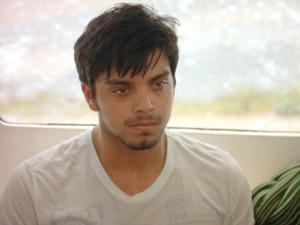 Marlon confessa que está com medo (Foto: Além do Horizonte/TV Globo)