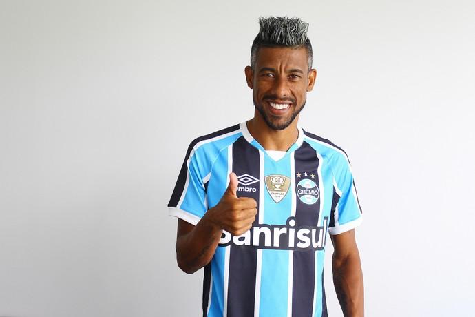 Leó Moura Grêmio (Foto: Lucas Uebel/Divulgação Grêmio)