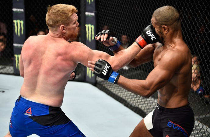 Sam Alvey x Rashad Evans UFC Mexico (Foto: Getty Images)