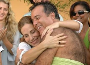 Cena da piscina é uma das preferidas de Tony Ramos (Foto: Divulgação / Reprodução)