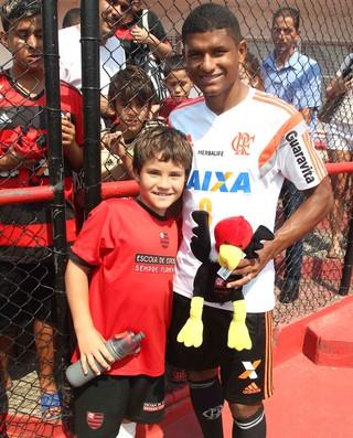 Marcio Araujo treino flamengo (Foto: Gilvan de Souza / Flamengo)