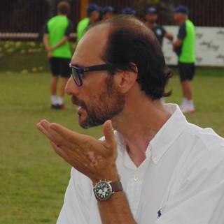 Tiago Alves, dirigente do Boavista (Foto: Gustavo Garcia/GloboEsporte.com)