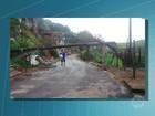 Chuva forte provoca estragos em bairros de Volta Redonda, RJ