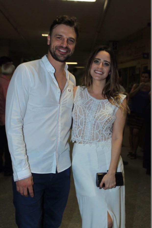 Cássio Reis e Fernanda Vasconcellos (Foto: Marcello Sá Barretto / AgNews)