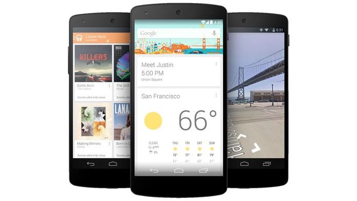 Nexus 5 sai na frente no quesito desempenho (Foto: Reprodução/The Verge)