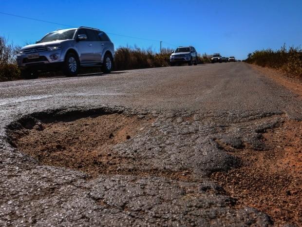Pesquisa da CNT apontou mais 60% das estradas federais e estaduais de Mato Grosso com deficiências (Foto: Mayke Toscano / GCom-MT)