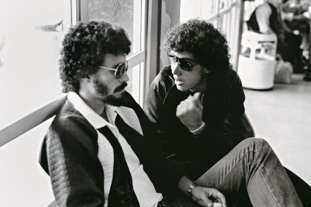A dupla em 1983 (Foto: Agência Estado)