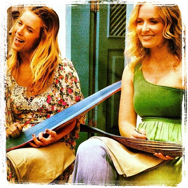 Carolina Dieckmann e Angélica (Foto: Instagram / Reprodução)