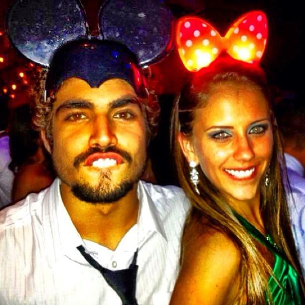 Caio e Sabrina (Foto: Reprodução)