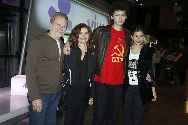 Debora Bloch e Olivier Anquier Jonas d Bora Bloch e os