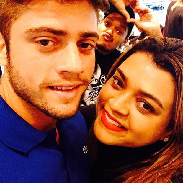 Preta Gil com o namorado (Foto: Reprodução/ Instagram)