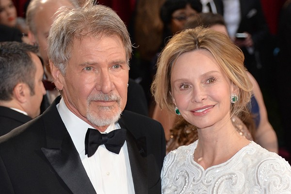 Calista Flockhart e Harrison Ford (Foto: Getty Images)