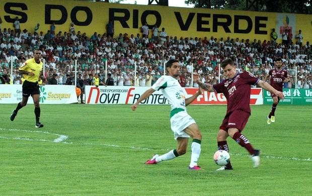 Zé Mario caxias e luverdense (Foto: Rafael Tomé)