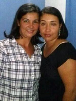 Lucélia e Denise, trocadas na maternidade em Juquiá, SP (Foto: Denise Correa/Arquivo Pessoal)