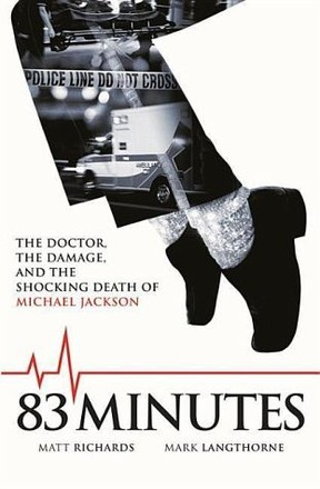 Capa do livro: 83 Minutes: The Tragedy of Michael Jackson's Final Moments (Foto: Reprodução )