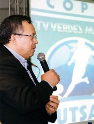 Gilvan Paiva, secretário do esporte do Ceará (Foto: Heloísa Araújo/Agência Diário)
