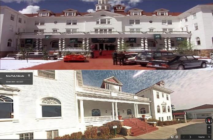 O Hotel Danbury do filme na verdade se chama Hotel Stanley (Foto: Reprodução/Juliana Pixinine)