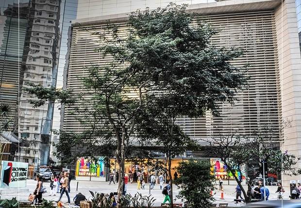 Fachada do Shopping Cidade São Paulo, na Av. Paulista, inaugurado em 2015 (Foto: Reprodução/Facebook)