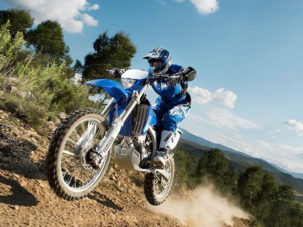 Yamaha 250F: uma opção para quem gosta de terra (Foto: Divulgação)