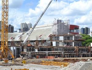 Obras na Arena da Baixada, estádio do Atlético-PR (Foto: Divulgação/Site oficial do Atlético-PR)