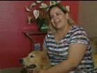 Enfermeira diz que superou depressão com ajuda de cães, em Luziânia