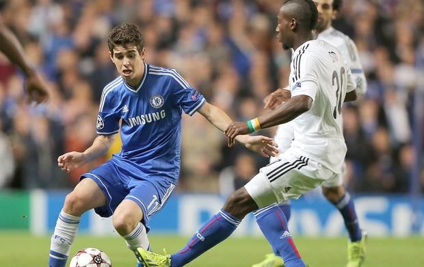 Oscar jogo Chelsea e Basel (Foto: Getty Images)