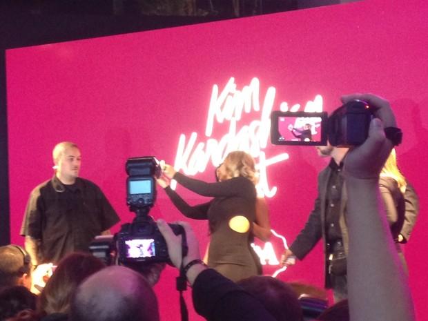 Valesca Popozuda e Kim Kardashian (Foto: EGO)