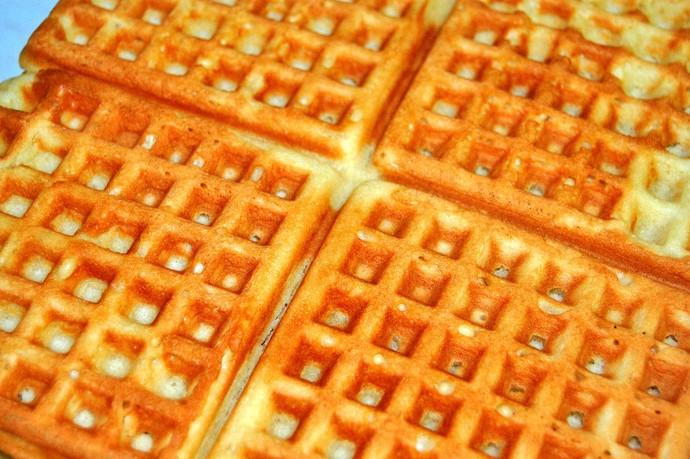 Waffle Mistura com Rodaika  (Foto: Arquivo Pessoal de Marcia Lisiane)
