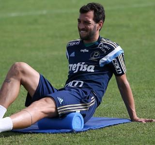 Edu Dracena Palmeiras (Foto: Cesar Greco/Ag Palmeiras/Divulgação)