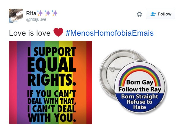 Dia contra homofobia 3 (Foto: Reprodução/Twitter)