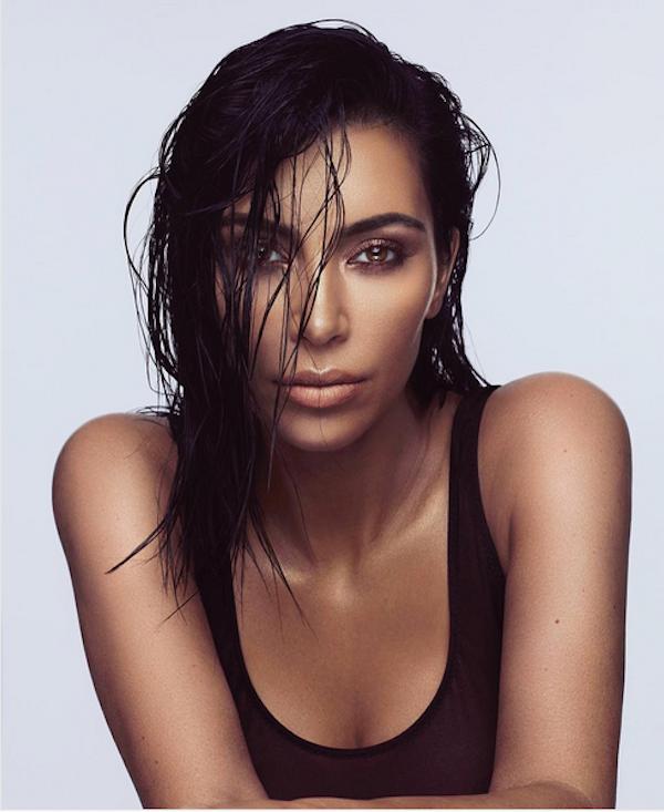 Outra foto de Kim Kardashian também alvo de questionamentos (Foto: Instagram)