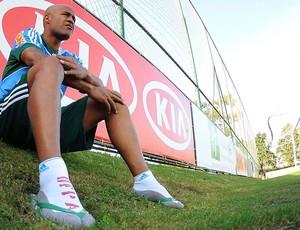 Marcos Assunção, treino Palmeiras (Foto: Marcos Ribolli  / Globoesporte.com)