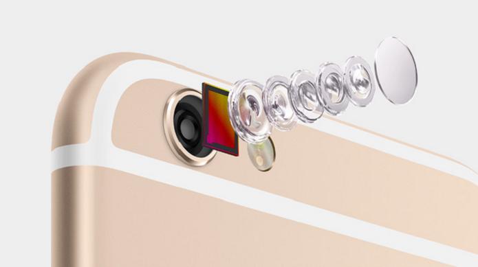 iPhone 6 possui iOS 8 e vem equipado com uma câmera de 8 megapixels (Foto: Divulgação/Apple) (Foto: iPhone 6 possui iOS 8 e vem equipado com uma câmera de 8 megapixels (Foto: Divulgação/Apple))