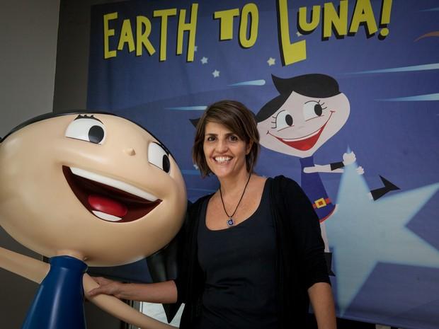 """""""O Show da Luna"""" ou """"Earth to Luna"""" foi criado para ser um produto globalizado (Foto: Marcelo Brandt/G1)"""