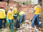 Prefeitura retira 185 quilos de lixo de casa abandonada em Catanduva
