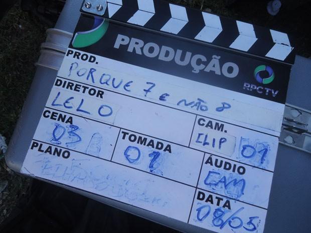 Por que 7 e não 8? (Foto: Divulgação/RPC TV)