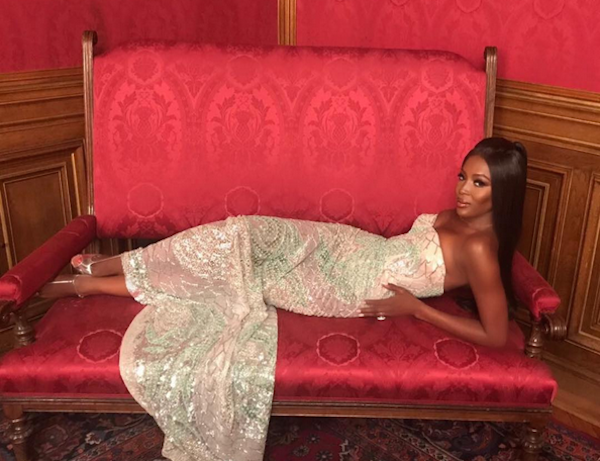 A modelo Naomi Campbell (Foto: Instagram)