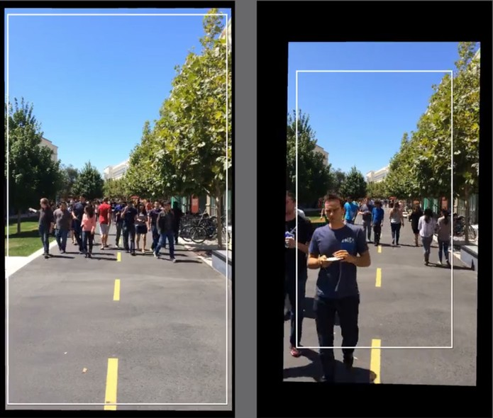 A quantidade de zoom vai depender de quão danificada está a imagem (Foto: Reprodução/Carol Danelli)