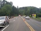 Motociclista morre em acidente com caminhonete na BR-386, no RS