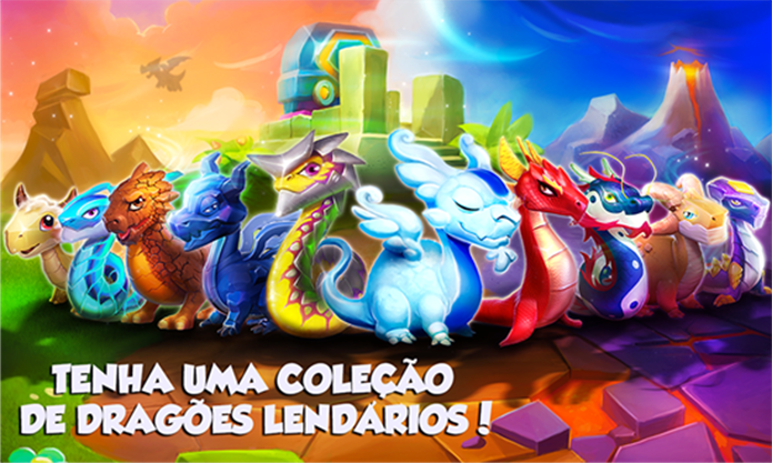 Dragon Mania é um game para Windows Phone onde usuário deve criar dragões (Foto: Divulgação/Windows Phone Store)
