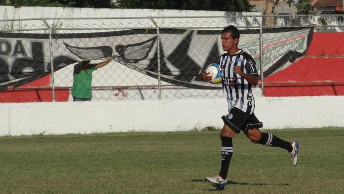 Didira, de pênalti, marcou para o ASA (Foto: Leonardo Freire GloboEsporte.com)