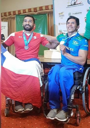 Luís Carlos Cardoso conquista ouro na categoria KL1 200m (Foto: Arquivo Pessoal)