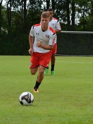 Lucas Fernandes São Paulo (Foto: Erico Leonan / site oficial do SPFC)