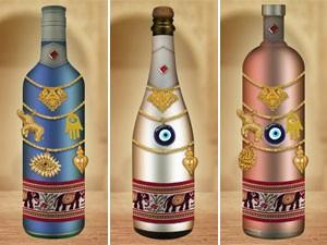 Apps das garrafas (Foto: Salve Jorge/TV Globo)