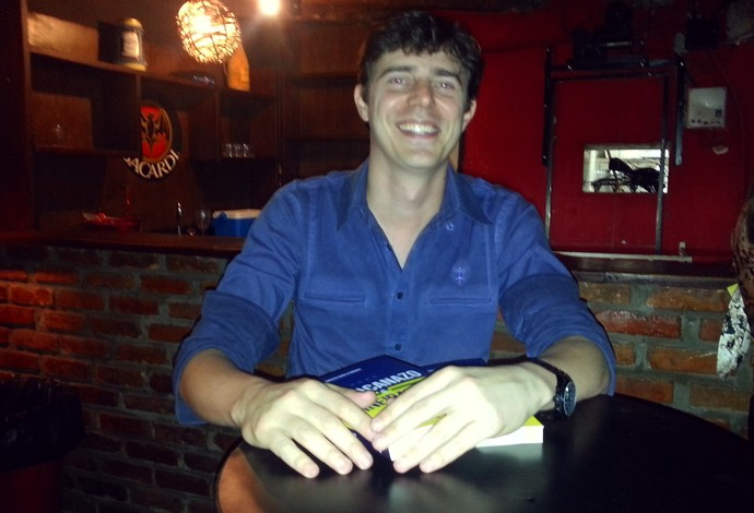Francisco Brinati autor do livro Maracanazo e Mineiratzen (Foto: Nathalie Guimarães)