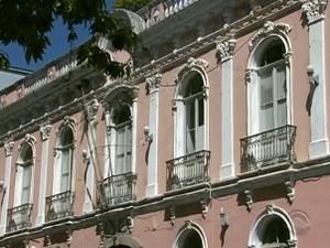 Antiga Câmara de Florianópolis vai ser restaurada e virar museu interativo (Foto: Reprodução/RBS TV)
