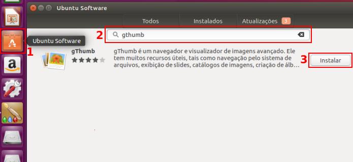 Instalando o gThumb no Ubuntu (Foto: Reprodução/Edivaldo Brito)