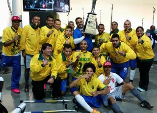 Seleção brasileira Futebol de amputados Copa América 2015 (Foto: Arquivo Pessoal / Rogerio Almeida)